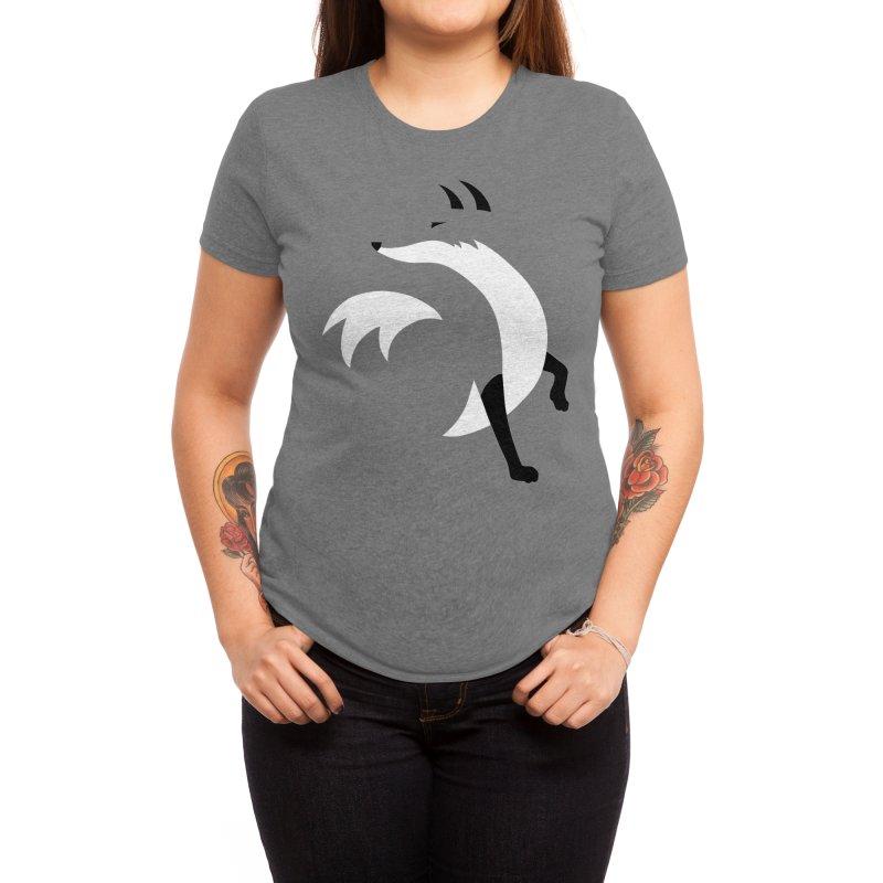 Fox Women's T-Shirt by JCLovely's Artist Shop