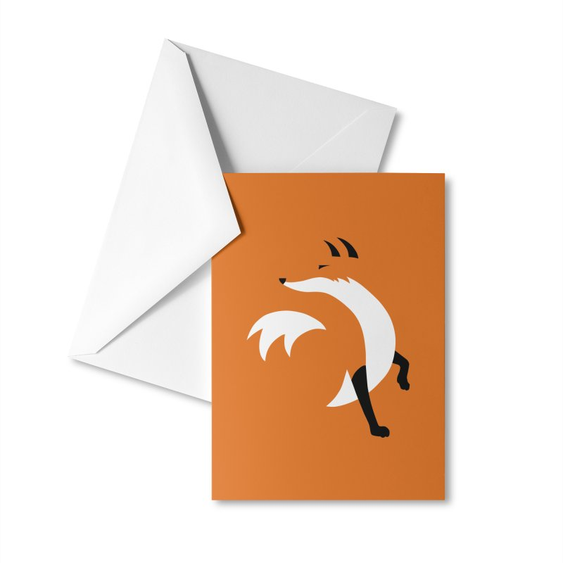 Fox Accessories Greeting Card by JCLovely's Artist Shop