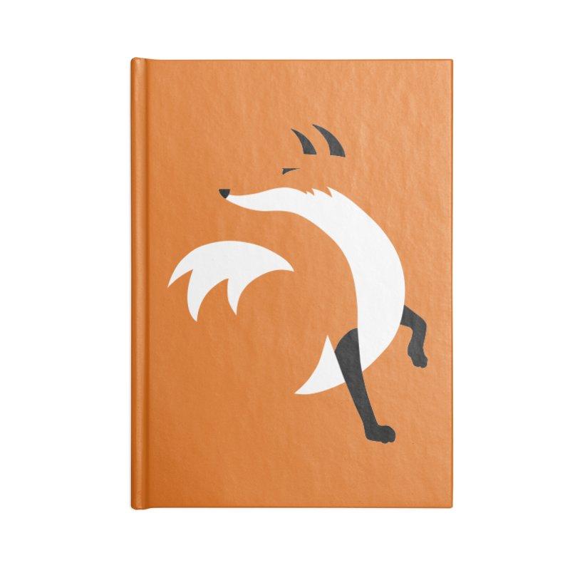 Fox Accessories Notebook by JCLovely's Artist Shop