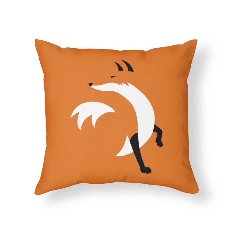 Fox Home Throw Pillow by JCLovely's Artist Shop