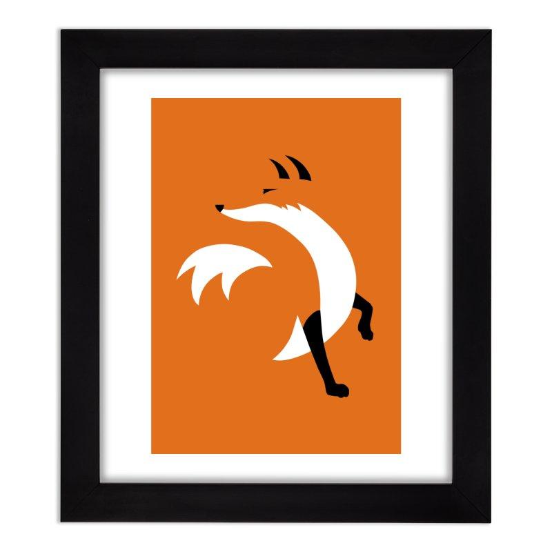 Fox Home Framed Fine Art Print by JCLovely's Artist Shop