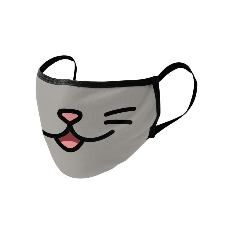 Kitty Accessories Face Mask by JCLovely's Artist Shop
