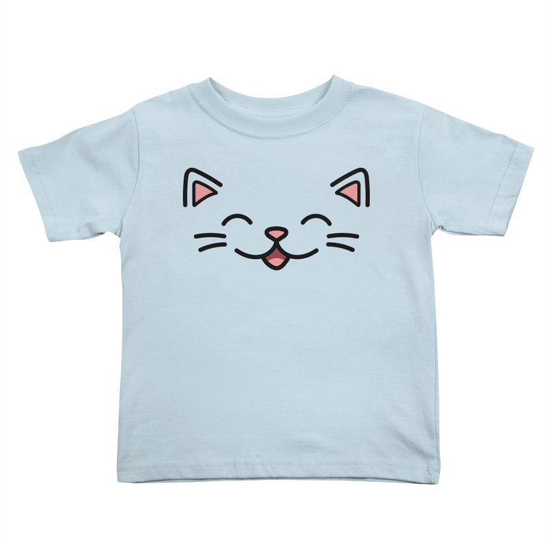 Kitty Kids Toddler T-Shirt by JCLovely's Artist Shop