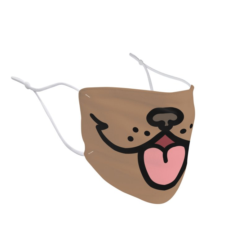 Puppy Accessories Face Mask by JCLovely's Artist Shop