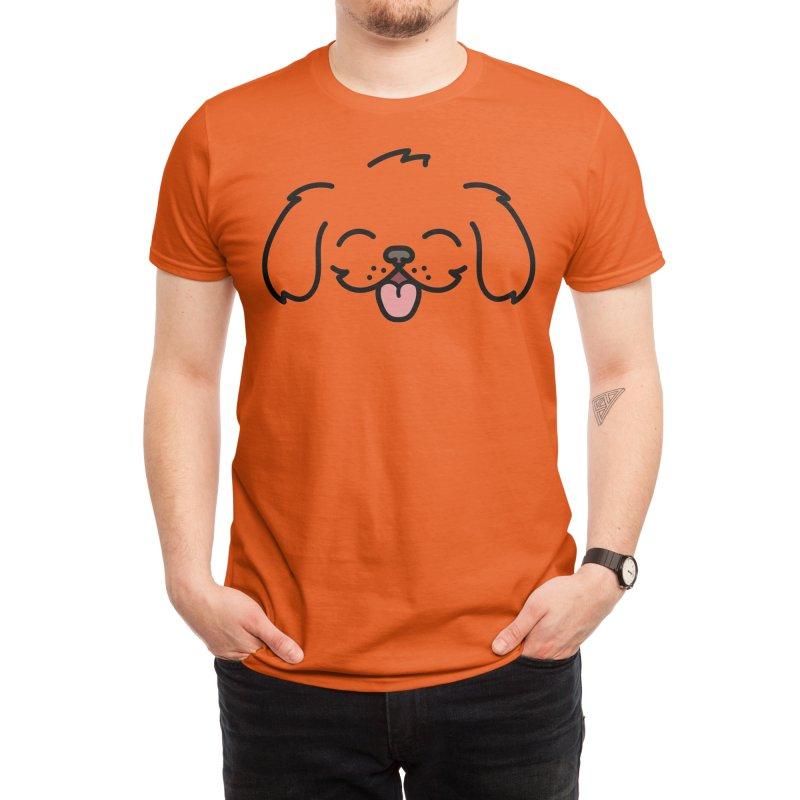Puppy Men's T-Shirt by JCLovely's Artist Shop