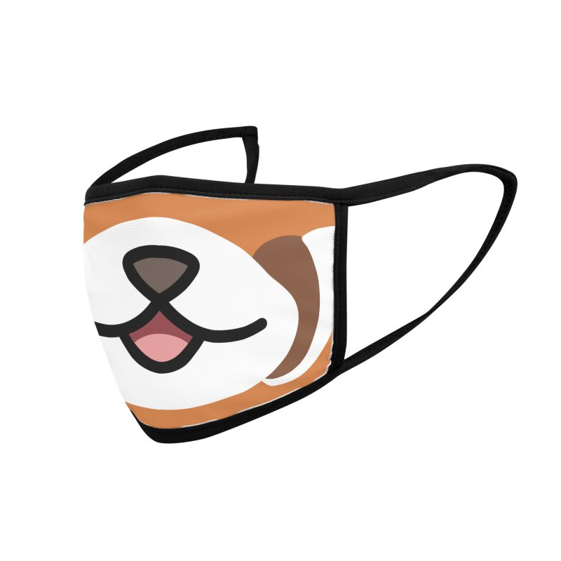 Red Panda Accessories Face Mask by JCLovely's Artist Shop