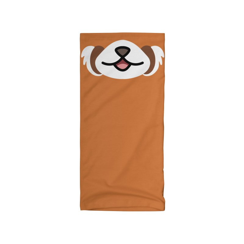 Red Panda Accessories Neck Gaiter by JCLovely's Artist Shop