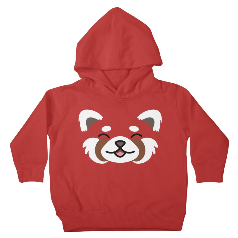 Red Panda Kids Toddler Pullover Hoody by JCLovely's Artist Shop