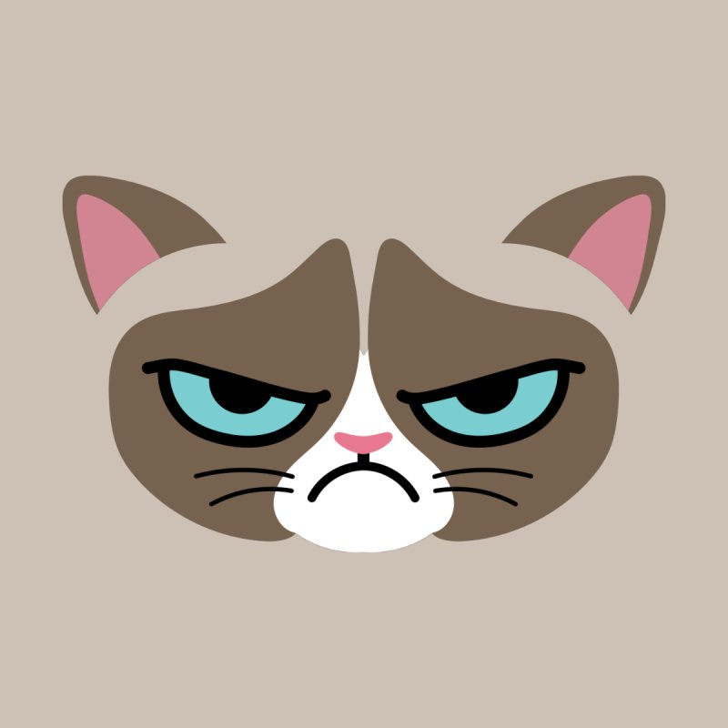 Grouchy Kitty Accessories Face Mask by JCLovely's Artist Shop