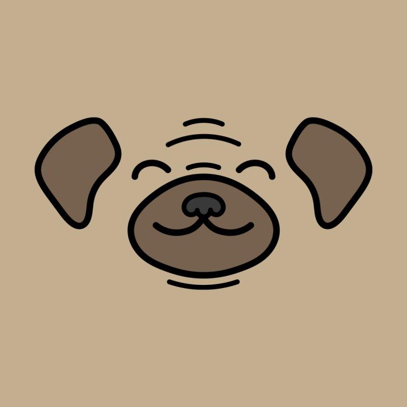 Happy Pug Men's T-Shirt by JCLovely's Artist Shop