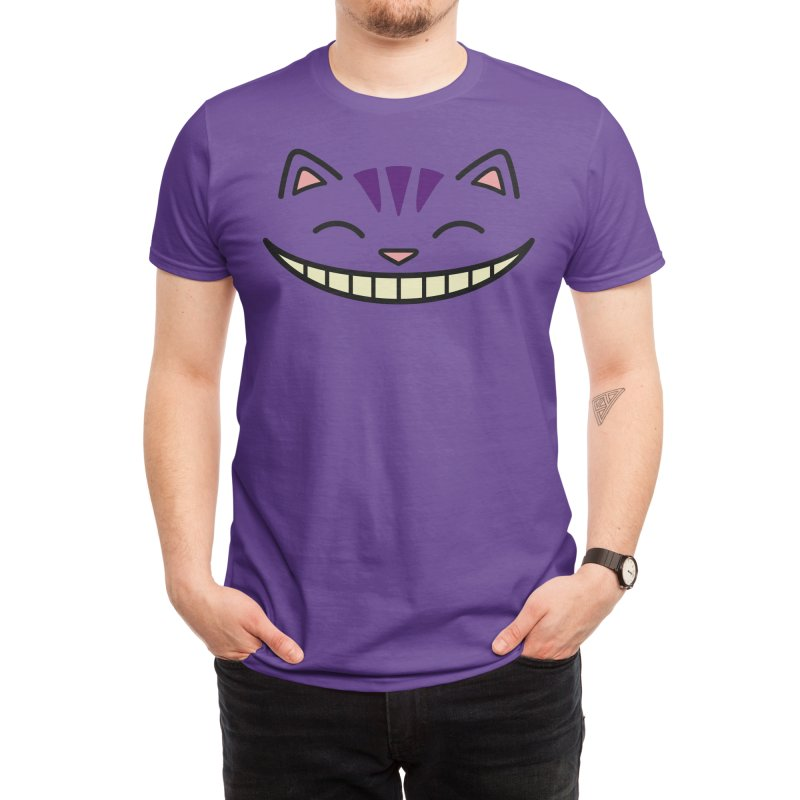 Cheshire Kitty Men's T-Shirt by JCLovely's Artist Shop