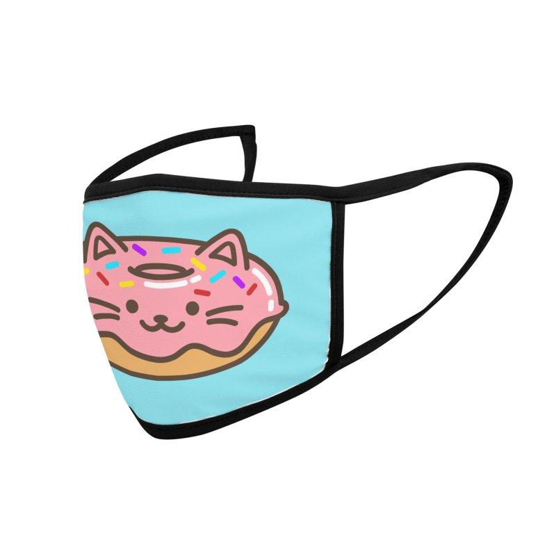 Donut Cat Accessories Face Mask by JCLovely's Artist Shop