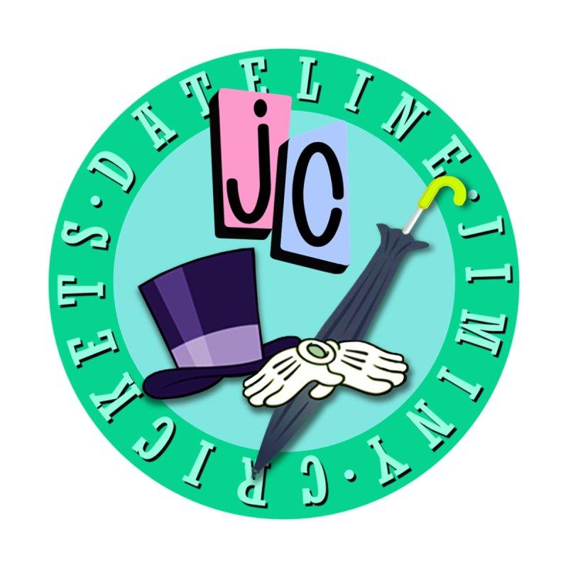 Jiminy Crickets Logo Men's T-Shirt by JCPodcast's Artist Shop