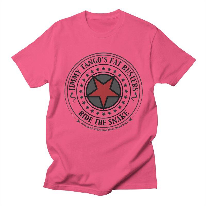 Jimmy Tango's Fat Busters Men's T-shirt by JDCD's Artist Shop