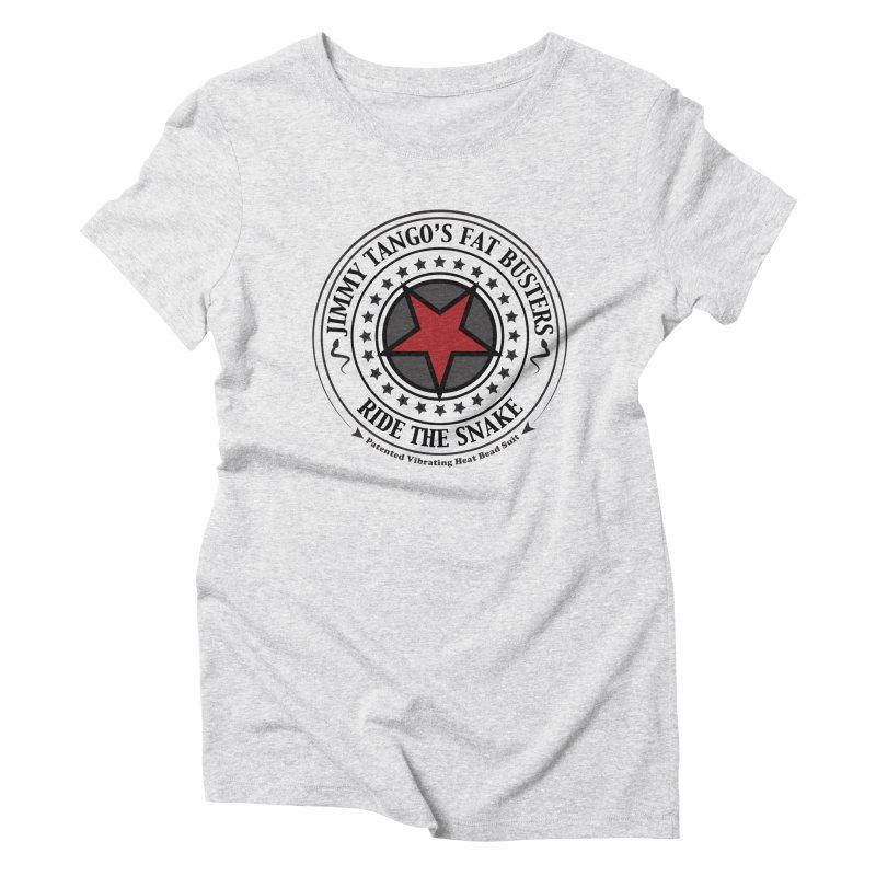 Jimmy Tango's Fat Busters Women's Triblend T-Shirt by JDCD's Artist Shop