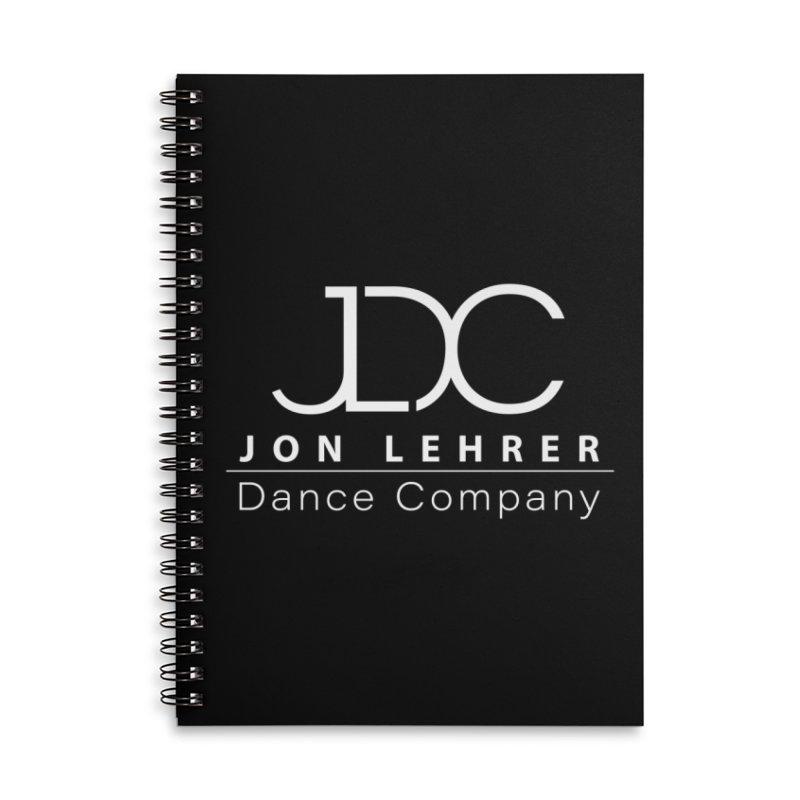 White Logo Accessories Notebook by JLDC's Artist Shop