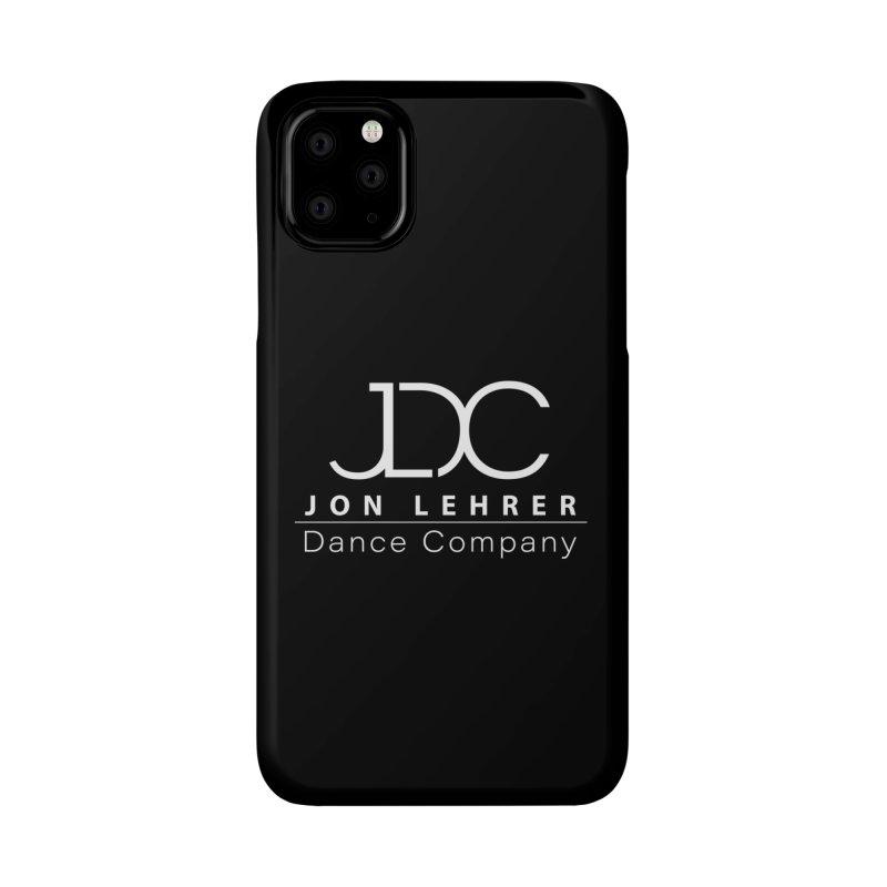 White Logo Accessories Phone Case by JLDC's Artist Shop