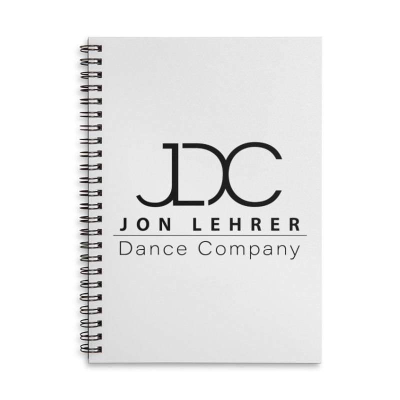 Black Logo Accessories Notebook by JLDC's Artist Shop