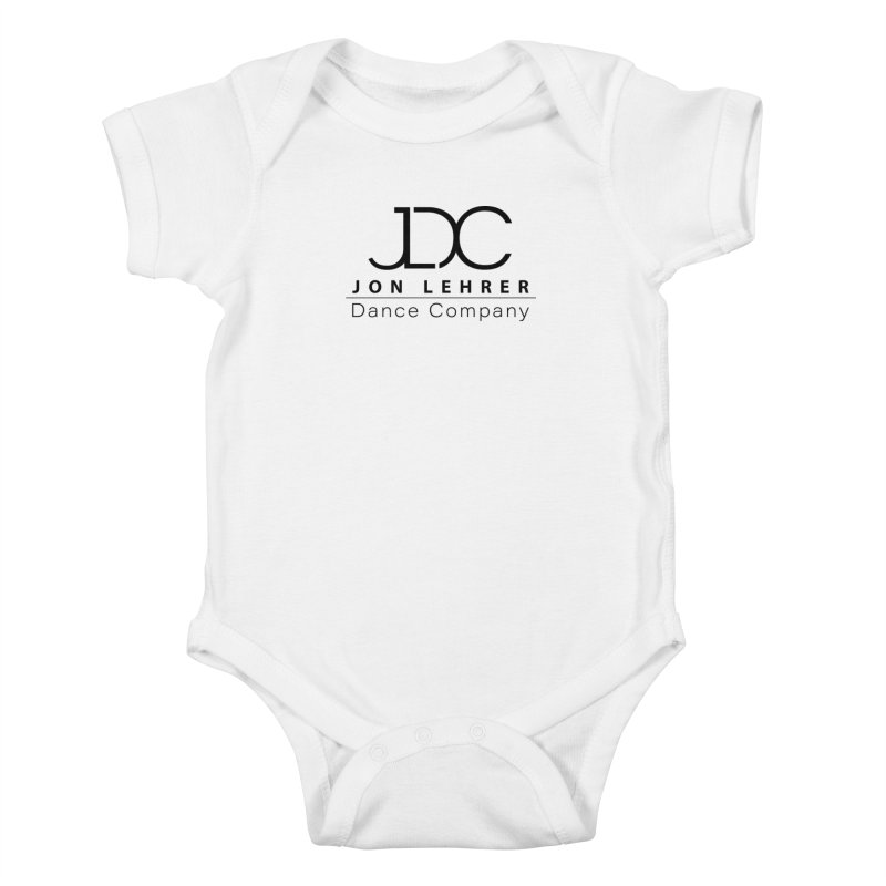 Black Logo Kids Baby Bodysuit by JLDC's Artist Shop