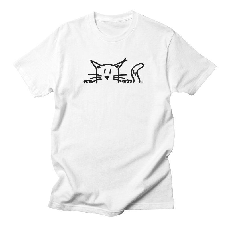Cat lurking Men's T-Shirt by JMGrafik's Artist Shop