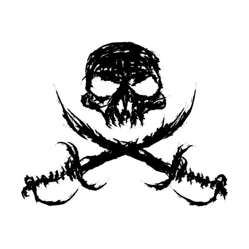 Pirate Skull - black by JMGrafik's Artist Shop