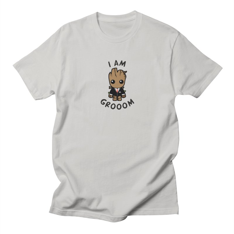 I am grooom Men's T-Shirt by JMGrafik's Artist Shop