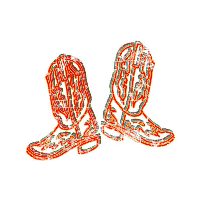 Faded Neon Boots Men's Tank by JNH-MERCH!