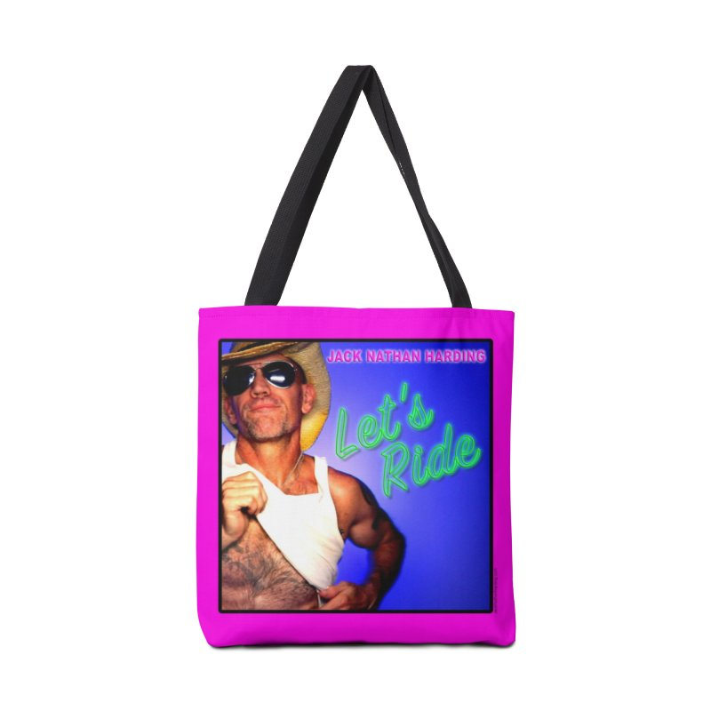 LET'S RIDE COVER ART in Tote Bag by JNH-MERCH!