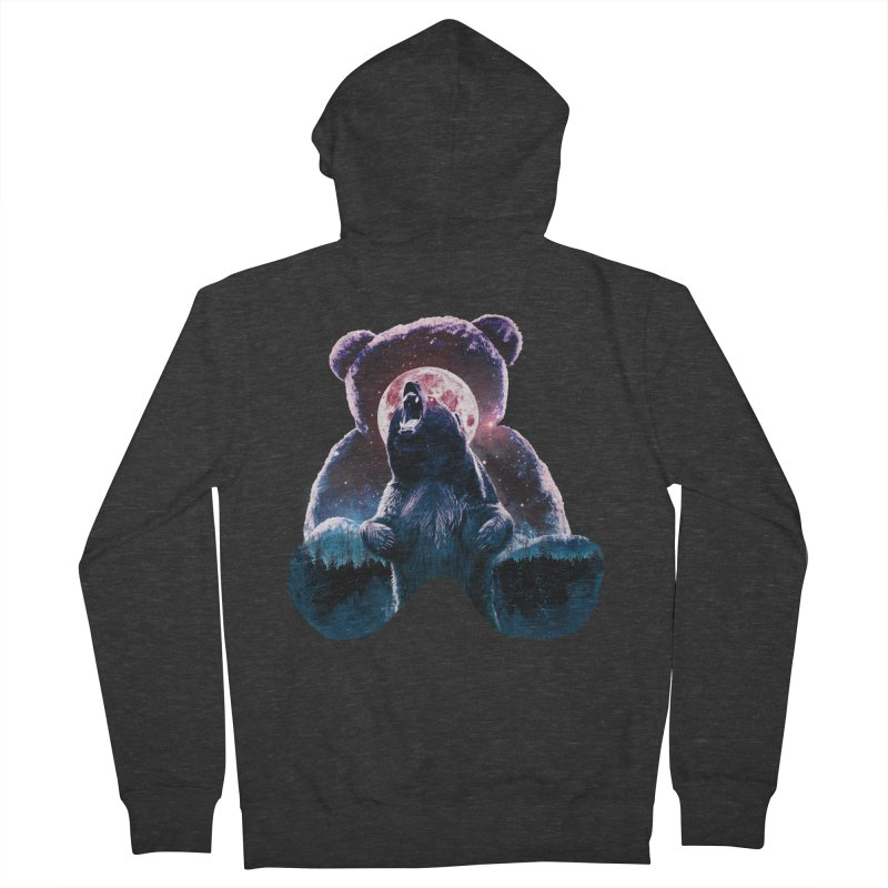 Inner Demons Men's French Terry Zip-Up Hoody by Johnthan's Supply