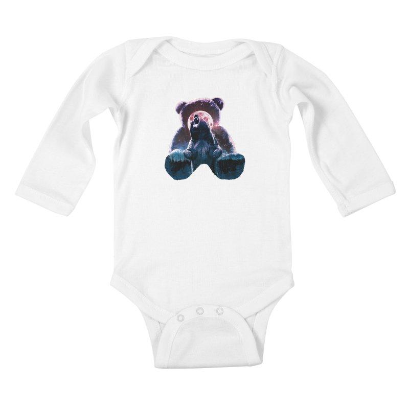 Inner Demons Kids Baby Longsleeve Bodysuit by Johnthan's Supply