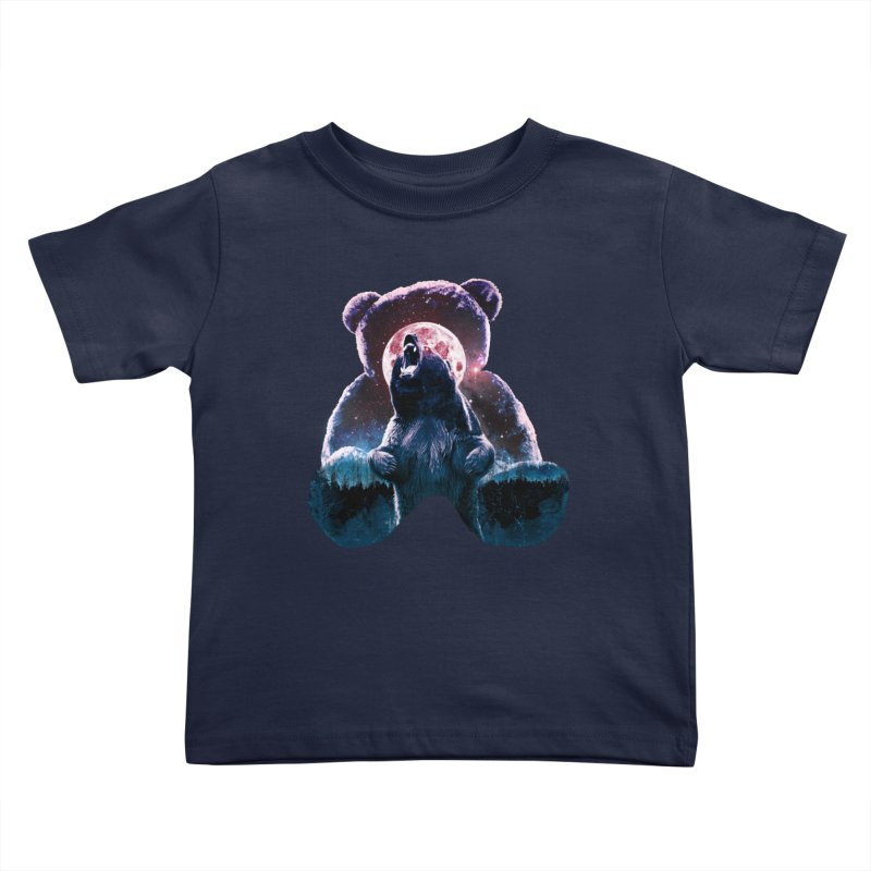 Inner Demons Kids Toddler T-Shirt by Johnthan's Supply