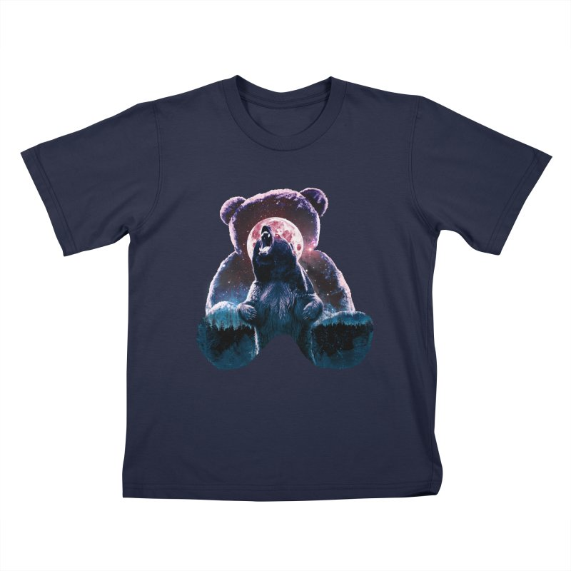 Inner Demons Kids T-Shirt by Johnthan's Supply