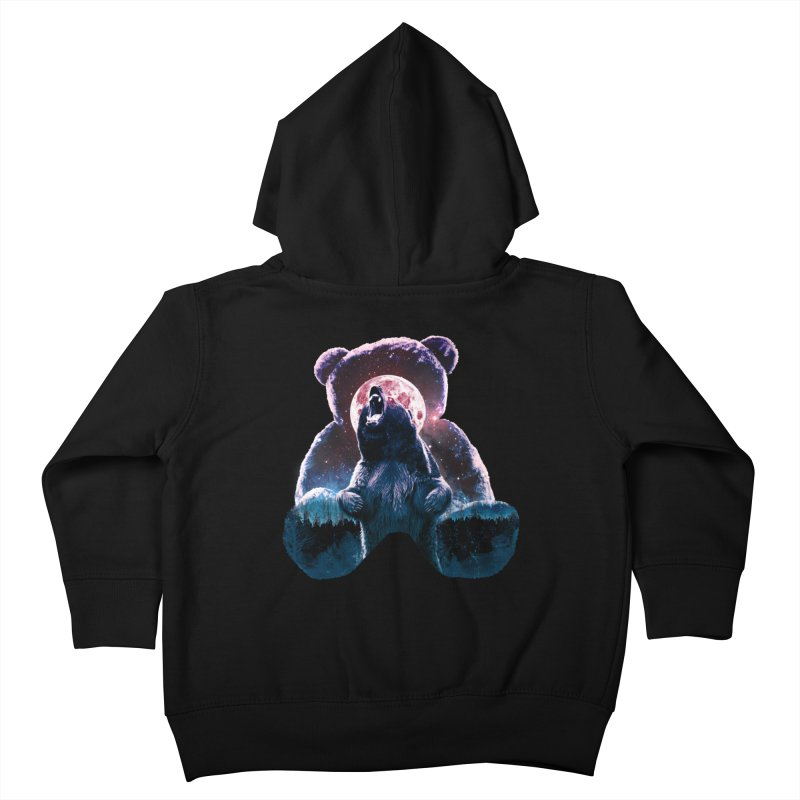 Inner Demons Kids Toddler Zip-Up Hoody by Johnthan's Supply