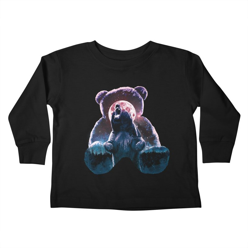 Inner Demons Kids Toddler Longsleeve T-Shirt by Johnthan's Supply