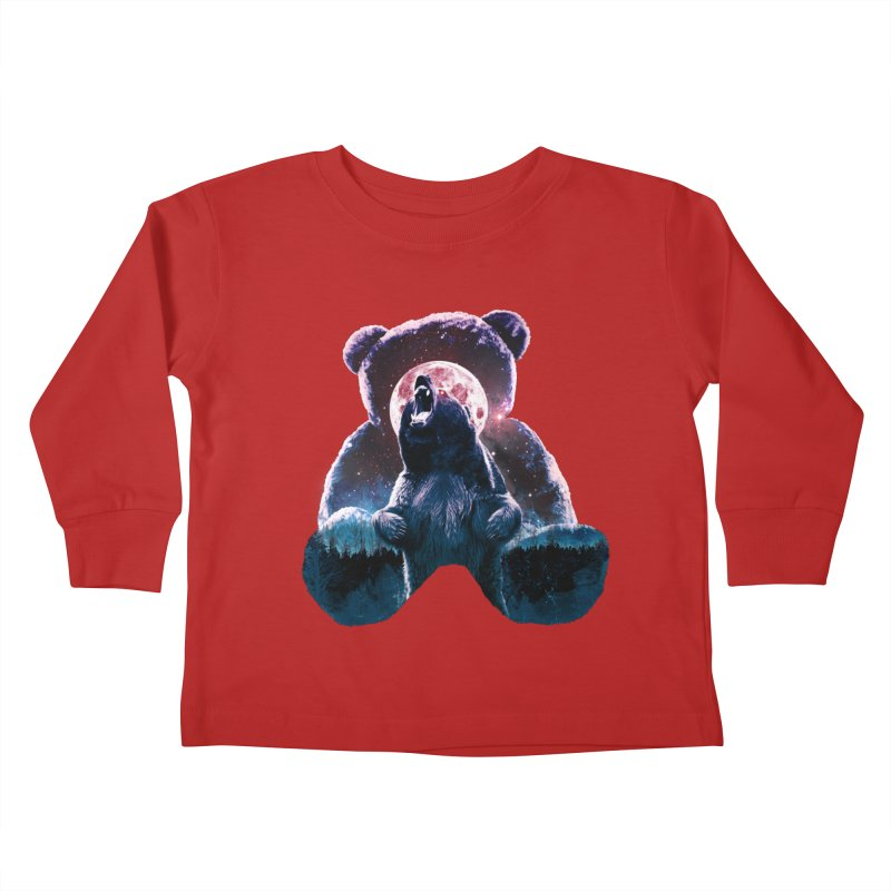 Inner Demons Kids Toddler Longsleeve T-Shirt by Johnthan's Supply
