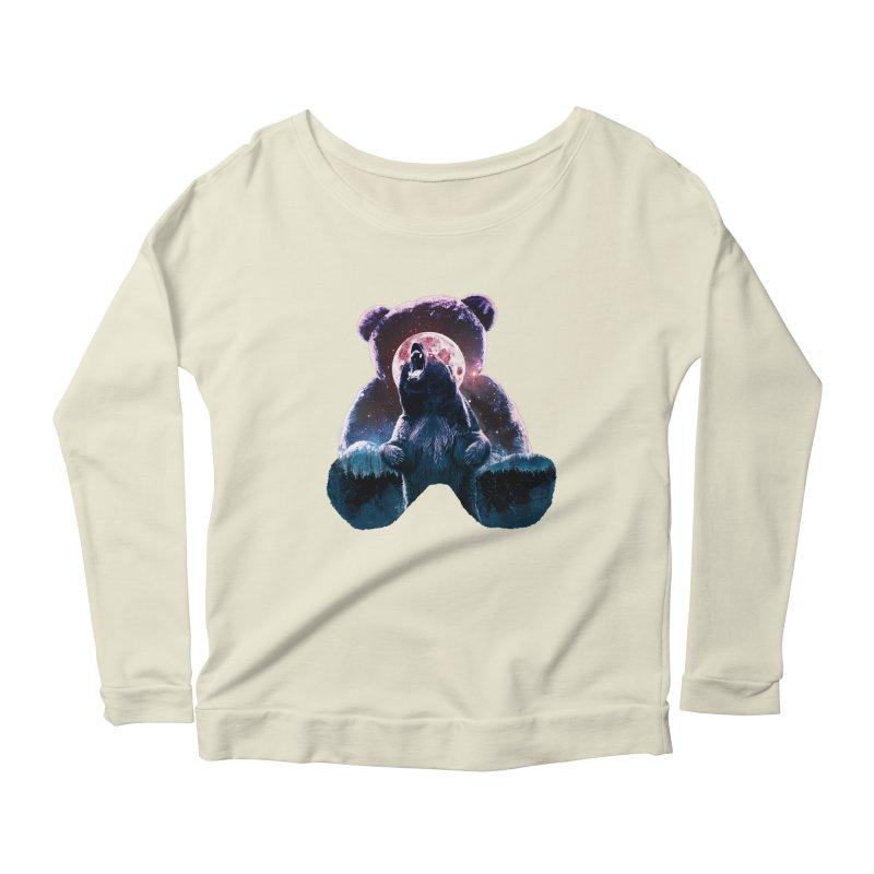 Inner Demons Women's Scoop Neck Longsleeve T-Shirt by Johnthan's Supply