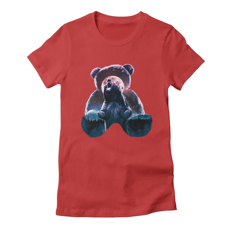 Inner Demons Women's Fitted T-Shirt by Johnthan's Supply