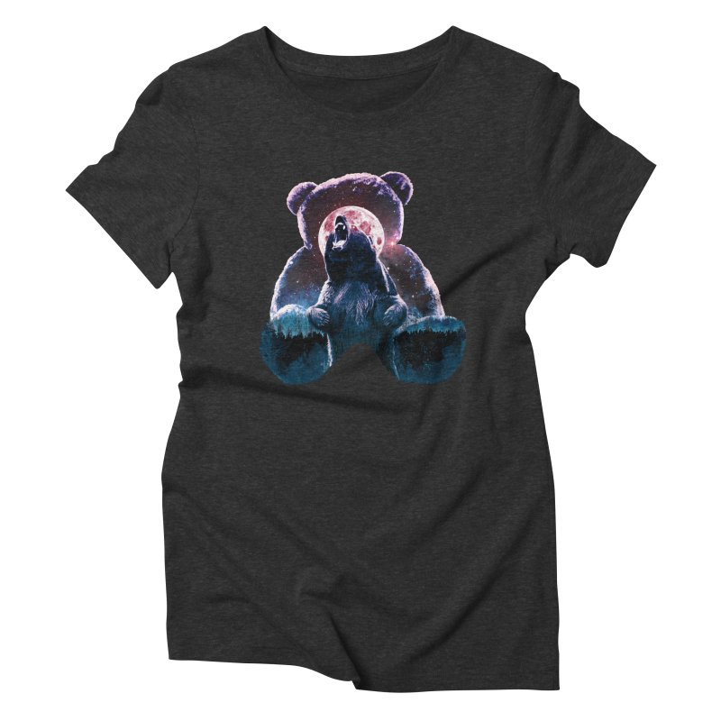Inner Demons Women's Triblend T-shirt by Johnthan's Supply