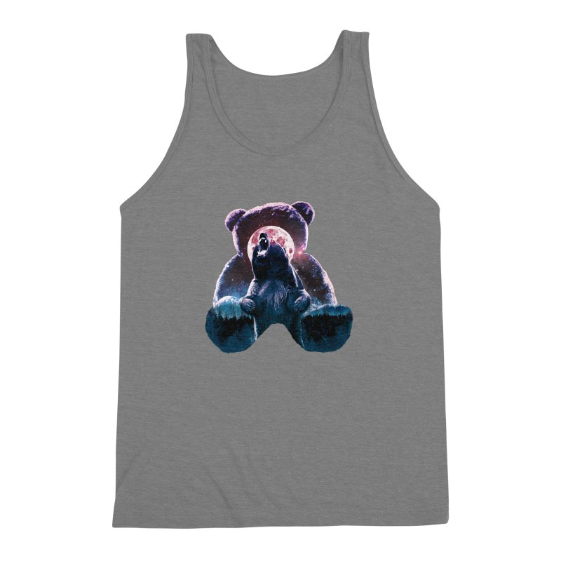 Inner Demons Men's Triblend Tank by Johnthan's Supply