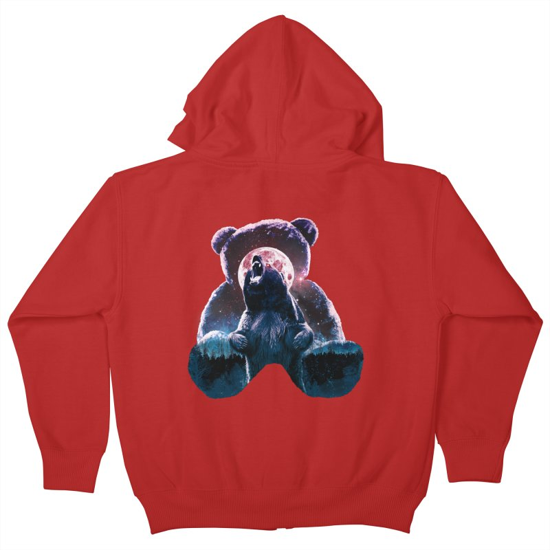 Inner Demons Kids Zip-Up Hoody by Johnthan's Supply