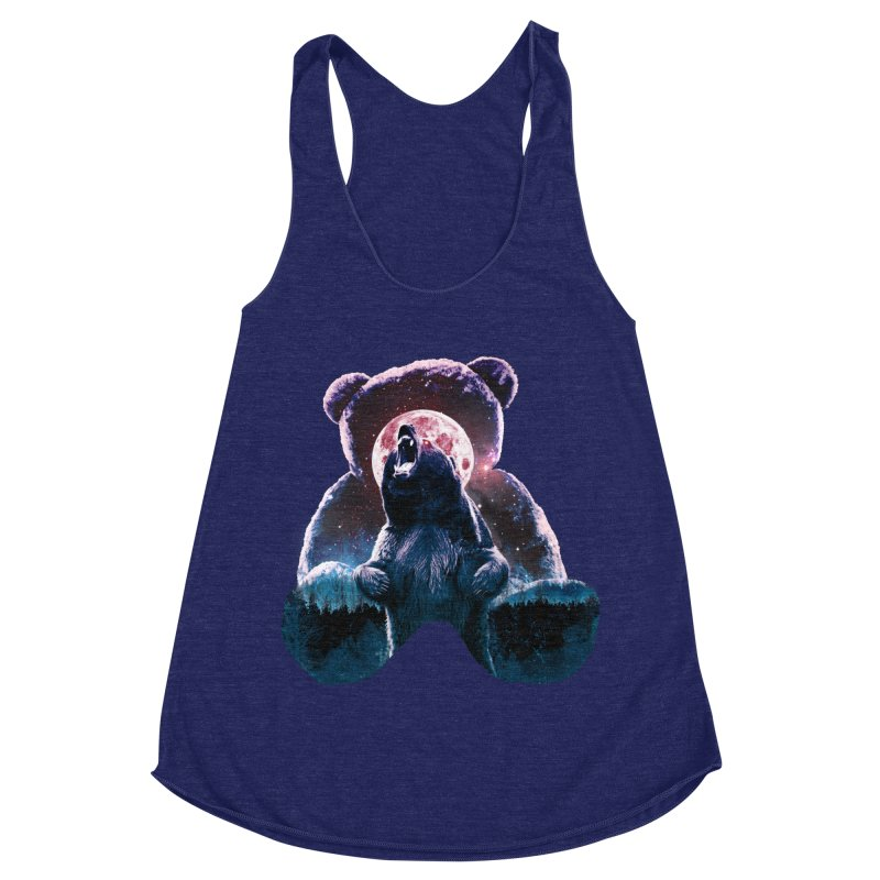 Inner Demons Women's Racerback Triblend Tank by Johnthan's Supply
