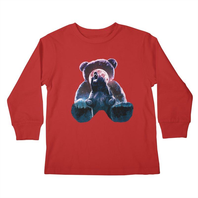 Inner Demons Kids Longsleeve T-Shirt by Johnthan's Supply