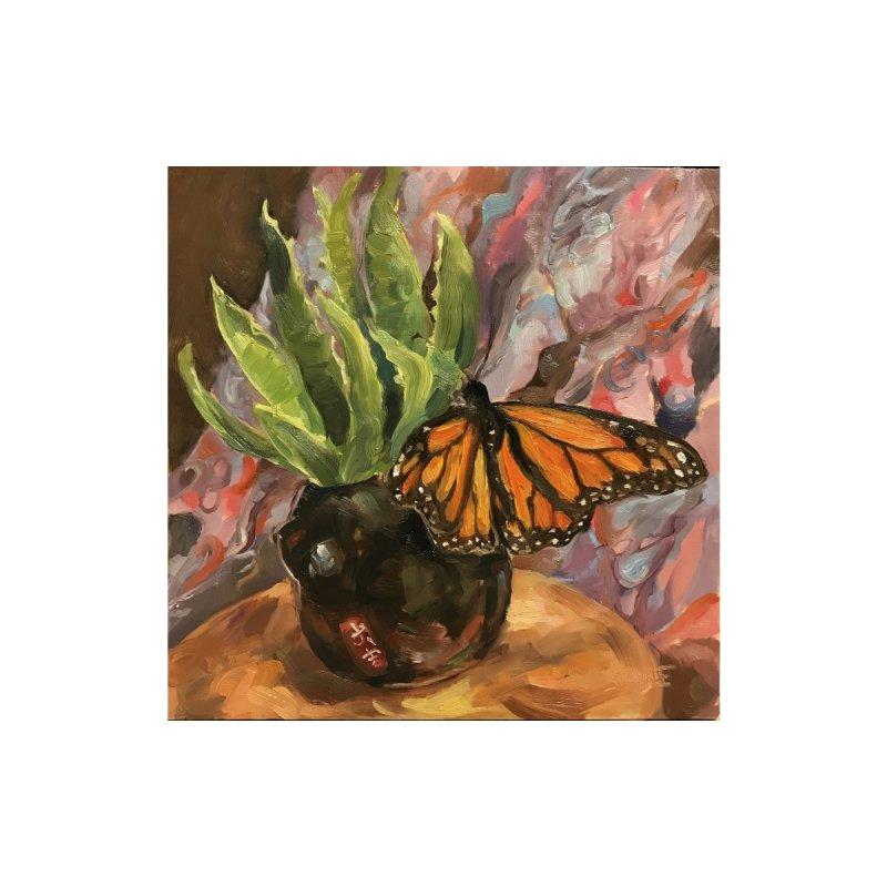 Still Life With Butterfly Women's Longsleeve T-Shirt by JPayneArt's Artist Shop