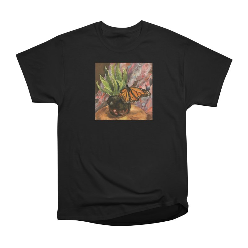 Still Life With Butterfly Women's Heavyweight Unisex T-Shirt by JPayneArt's Artist Shop