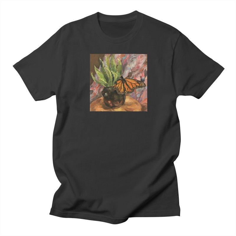 Still Life With Butterfly Women's Regular Unisex T-Shirt by JPayneArt's Artist Shop
