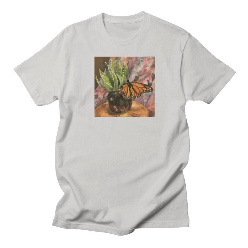 Still Life With Butterfly Men's Regular T-Shirt by JPayneArt's Artist Shop