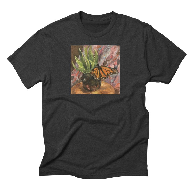 Still Life With Butterfly Men's Triblend T-Shirt by JPayneArt's Artist Shop