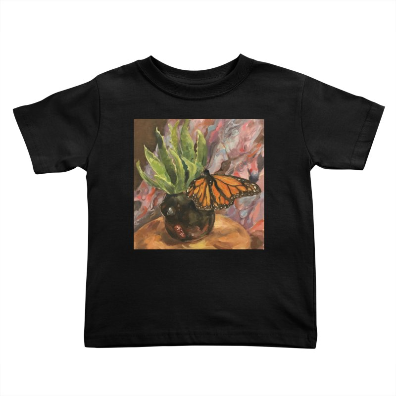 Still Life With Butterfly Kids Toddler T-Shirt by JPayneArt's Artist Shop