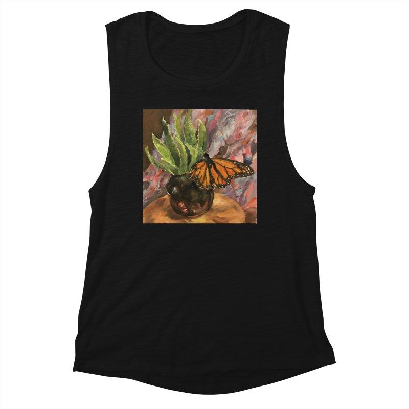 Still Life With Butterfly Women's Tank by JPayneArt's Artist Shop