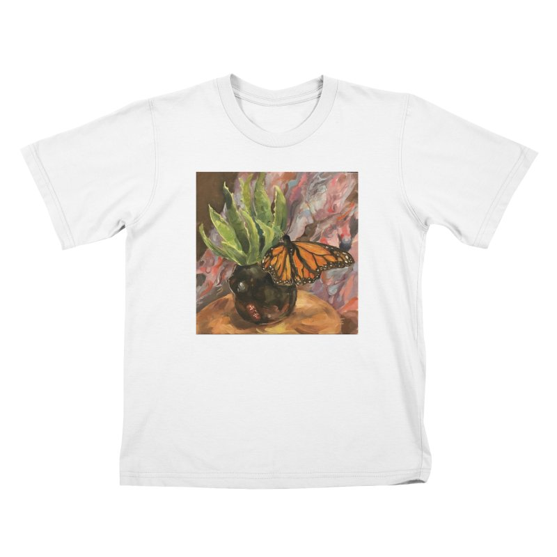 Still Life With Butterfly Kids T-Shirt by JPayneArt's Artist Shop
